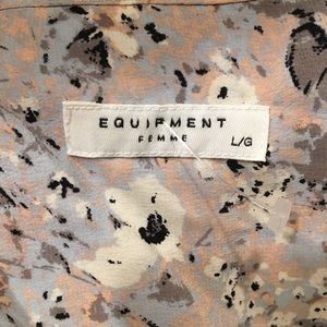 Equipment floral tunic / tank top